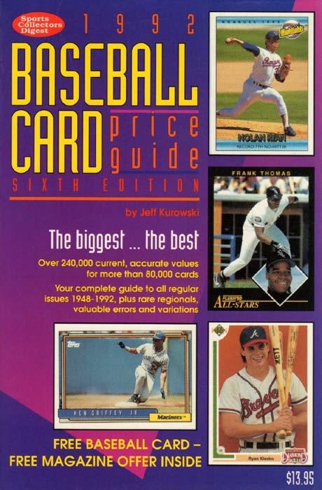 Nolan Ryan Sports Collectors Digest
